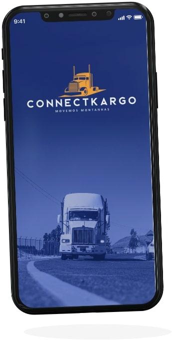 connectcargo shipper app screen one