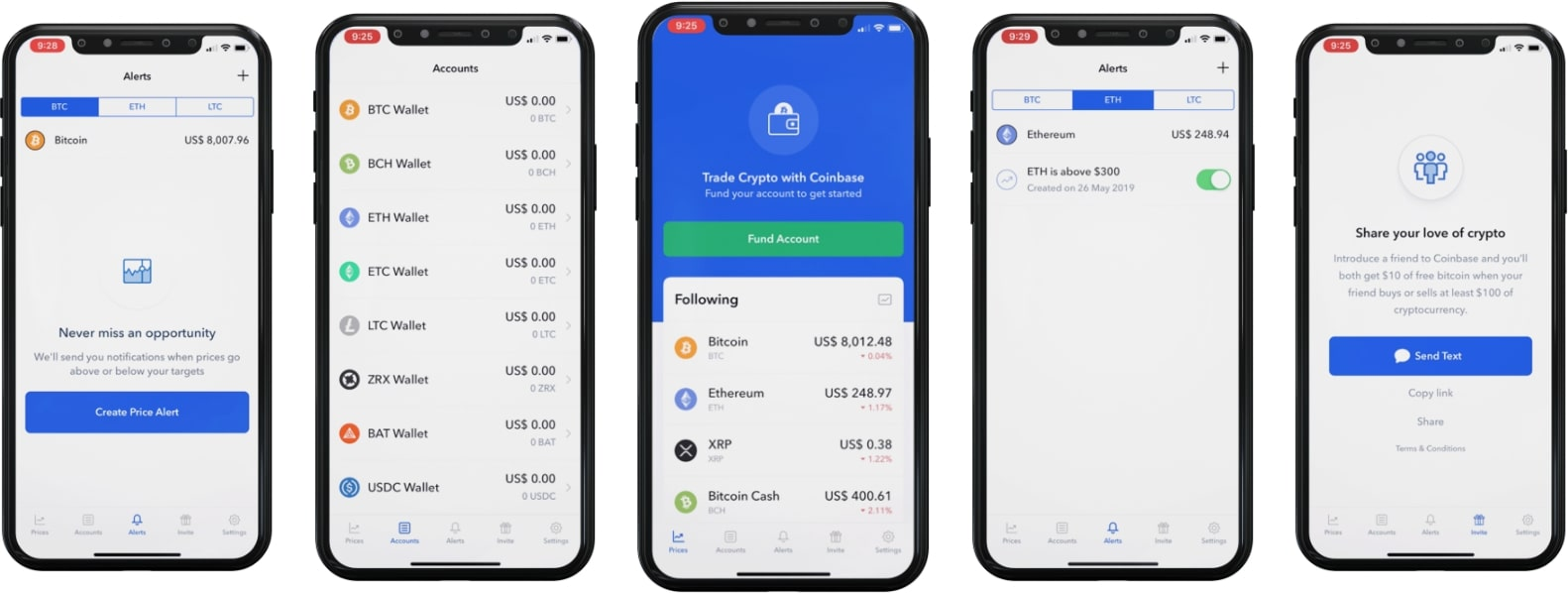 app like coinbase screenshot
