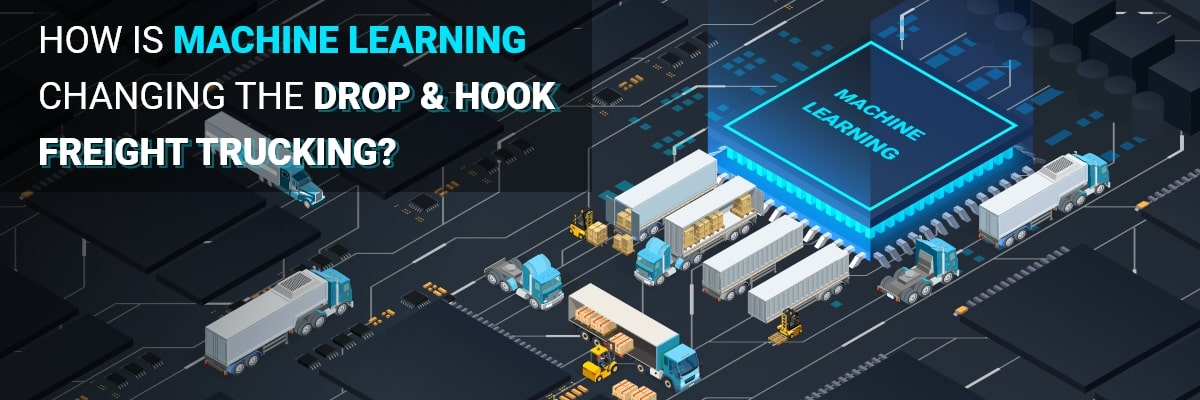 Drop and hook freight trucking