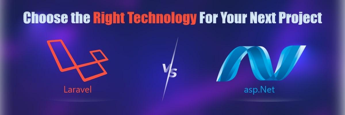 Comparison Between - Laravel Vs Asp.Net Framework