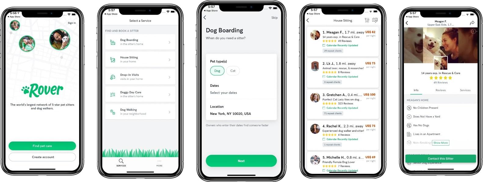 Dog Walking App like Rover