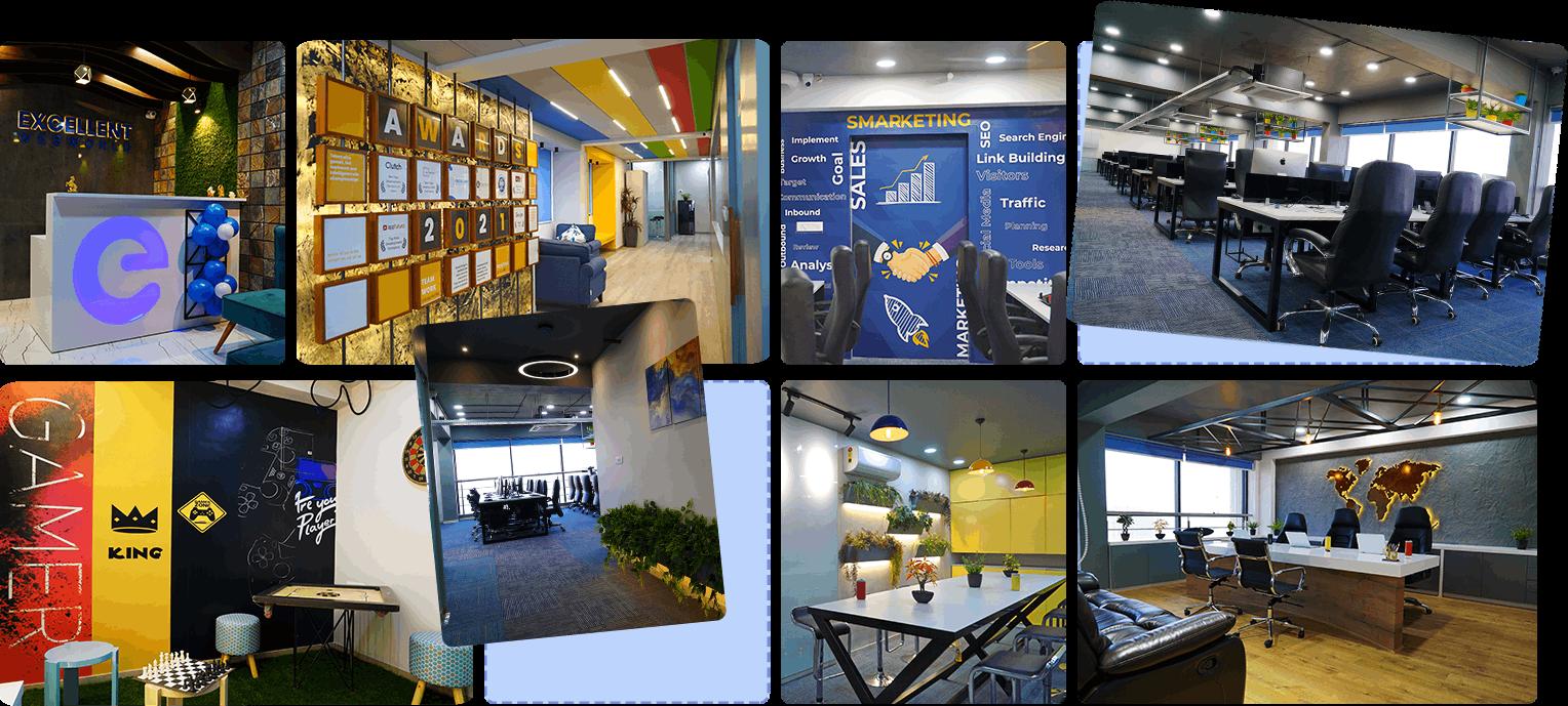 office interior look