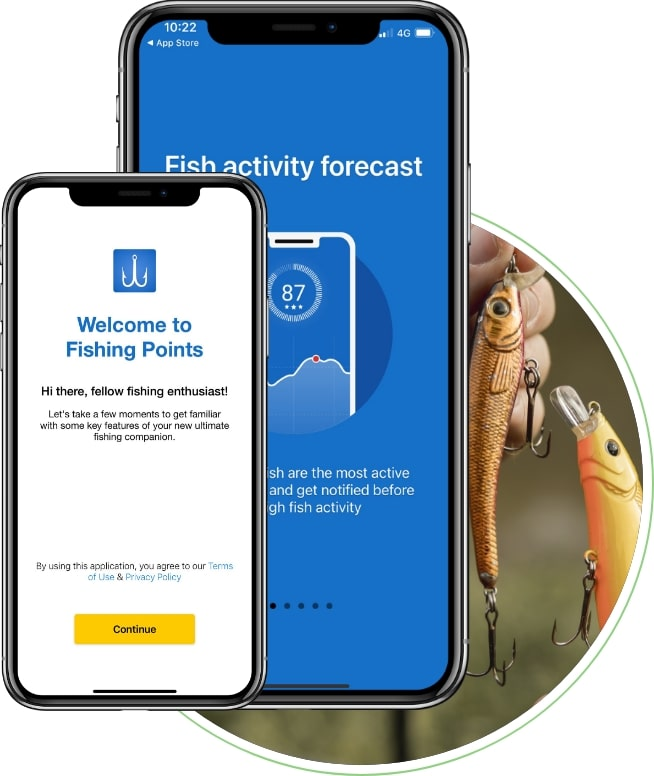fishing points mobile app