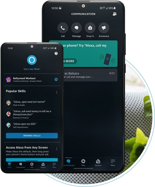 smart home in alexa app