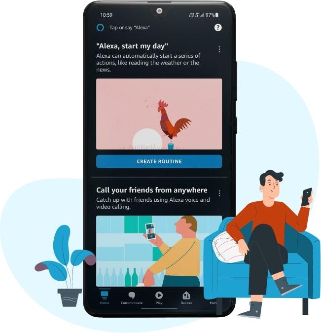 amazon smart home app