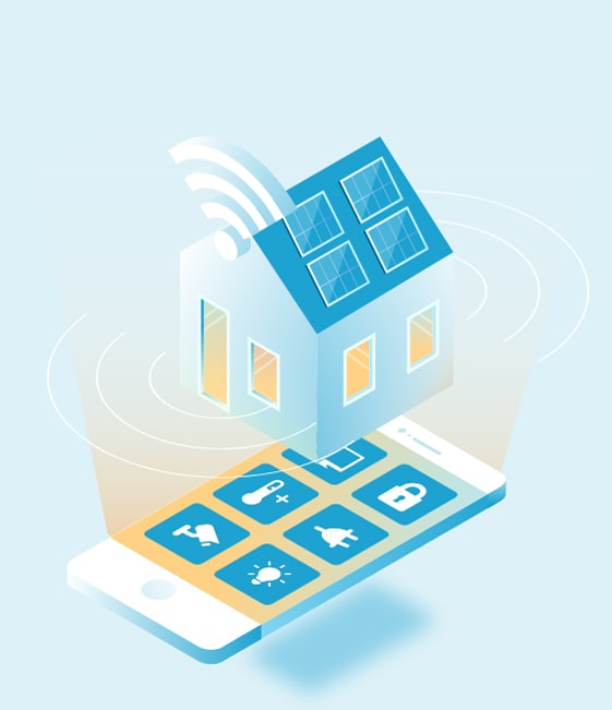 smart home applications work