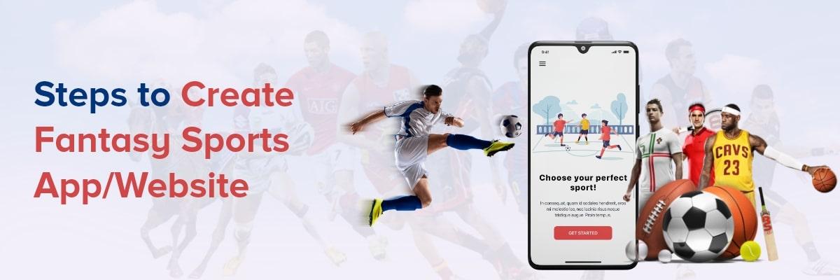 make a fantasy sports website & app