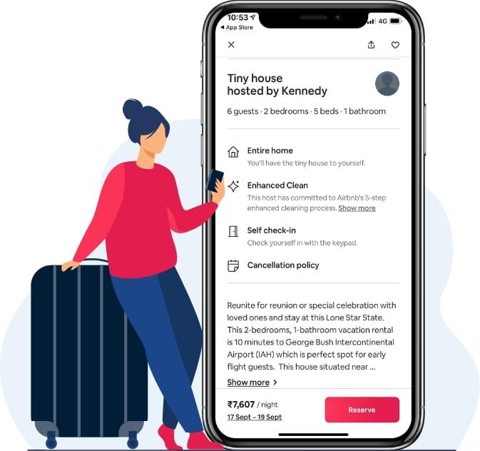 rental app like airbnb
