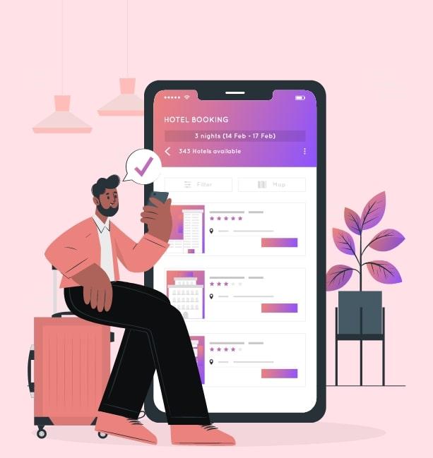 airbnb app work