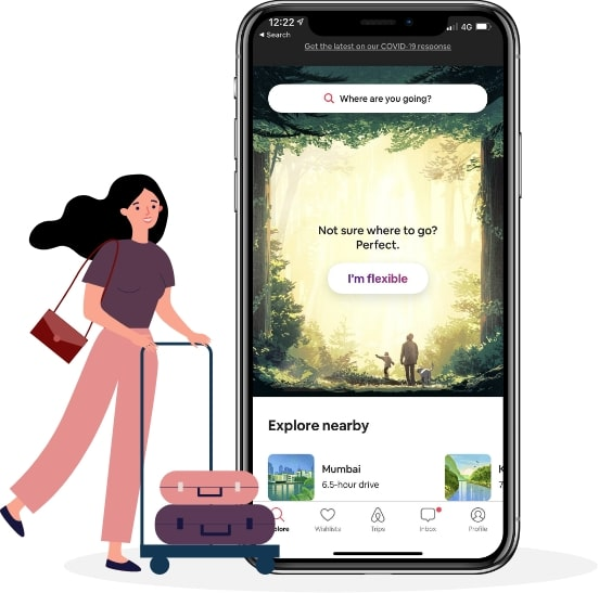 feature of airbnb app