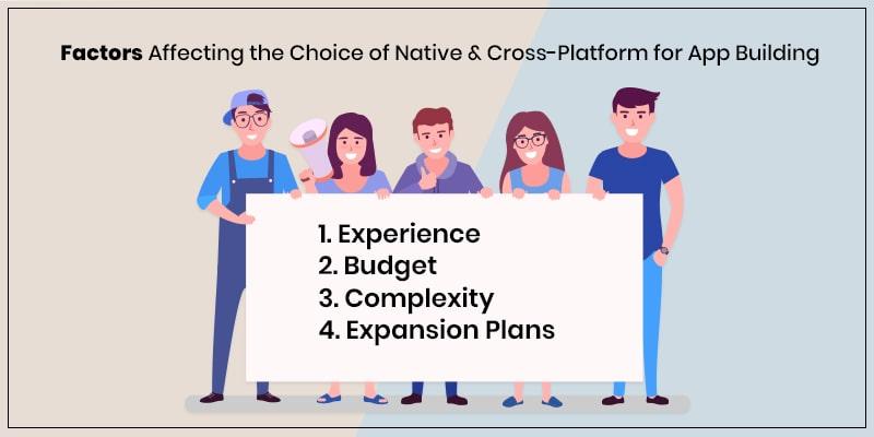 Factors to Choose Cross Platform vs native