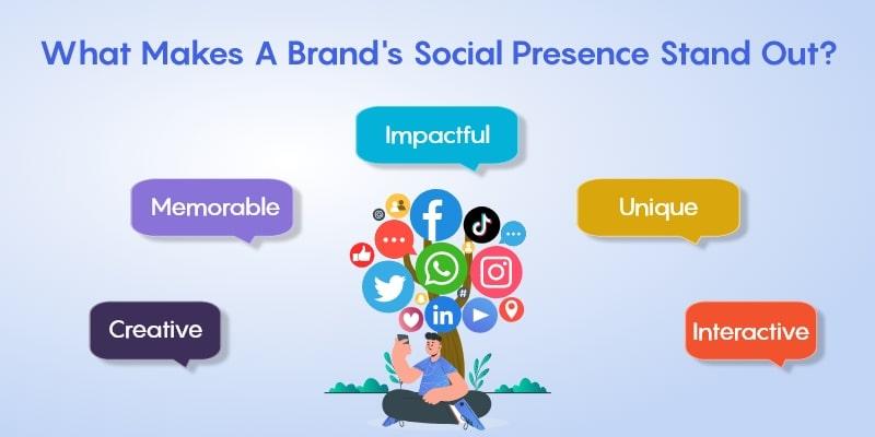 Makes a Brand Social Presence