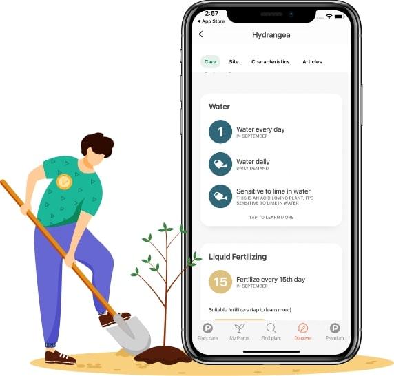 plants app features