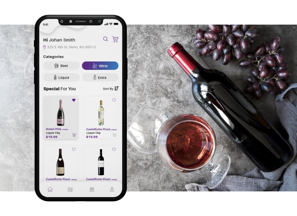 build an alcohol delivery app