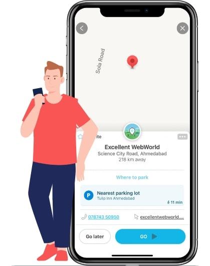 features of waze app